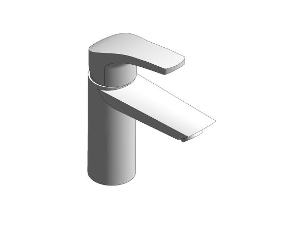 Product: Eurosmart - Single-Lever Basin Mixer 1/2″ S-Size - 23922003