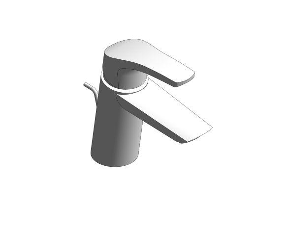 Product: Eurosmart - Single-Lever Basin Mixer 1/2″ S-Size - 2396530F