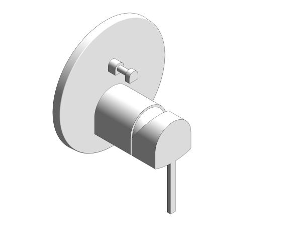 Product: Plus Single-Lever Mixer with 2-Way Diverter - 24060003