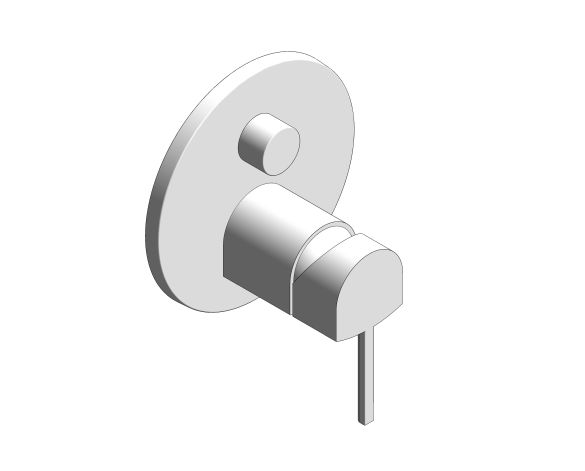 Product: Plus Single-Lever Mixer with 3-Way Diverter - 24093003