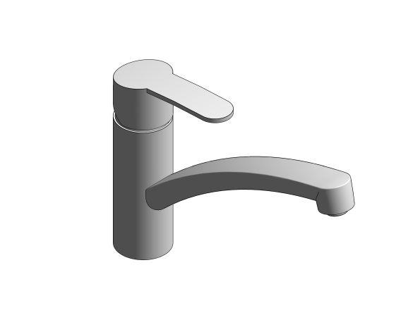 bimstore 3D image of the Grohe Eurosmart Sink Mixer - 30506000