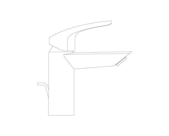 Product: Eurosmart - Single-Lever Basin Mixer 1/2″ S-Size - 3326530F