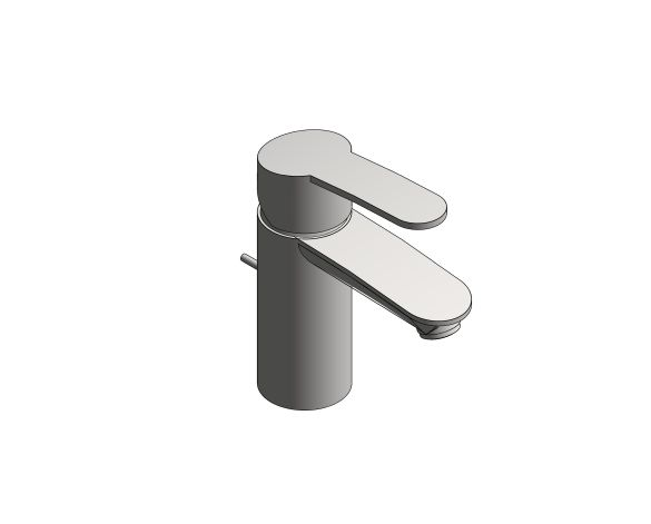 bimstore 3D image of the Grohe Eurostyle Cosmopolitan Basin Mixer S Size - 33552002