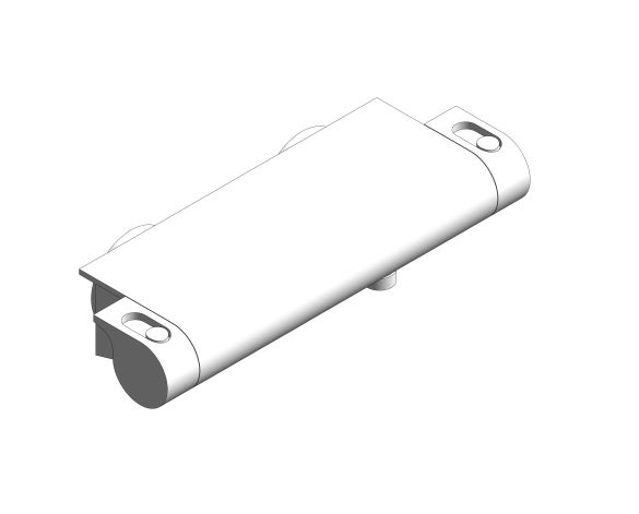 bimstore 3D image of the Grohe Grohtherm 2000 - Thermostatic shower mixer 1/2″ - 34469001