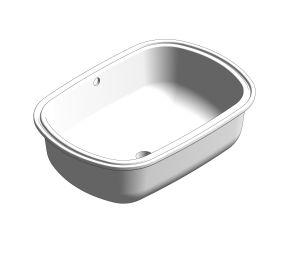 Product: Eurosmart Washbasin Under-Counter 60 - 39125001