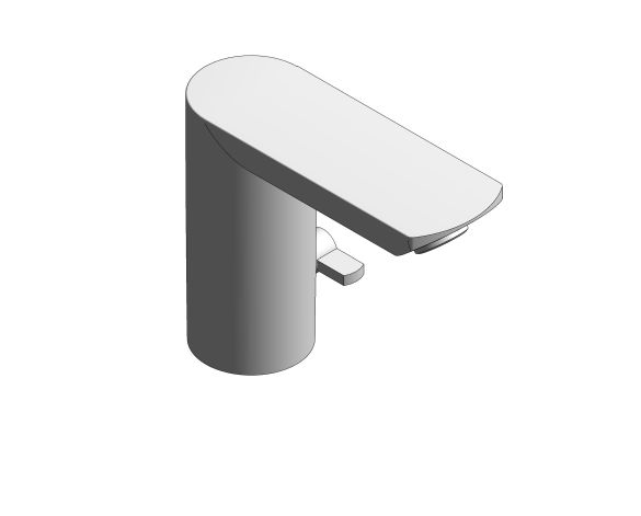 "bimstore 3D image of the Bau Cosmopolitan E Infra-Red Electronic Basin Mixer 1/2"" With Mixing Device and Temperature Limiter - 36453000 from Grohe"