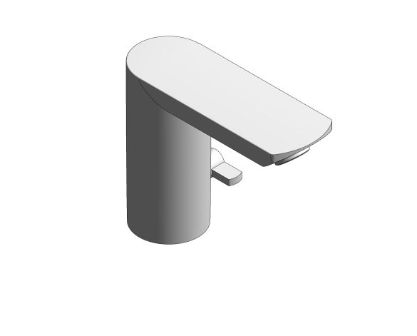 "bimstore 3D image of the Bau Cosmopolitan E Infra-Red Electronic Basin Tap 1/2"" Without Mixing Device - 36452000 from Grohe"