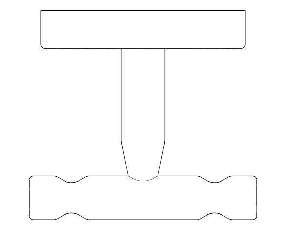 bimstore plan image of the BauCosmopolitan Robe Hook - 40461001 from Grohe