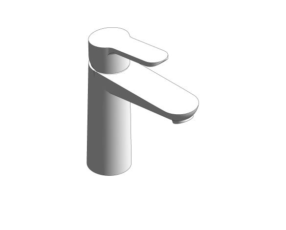 bimstore 3D image of the Bauedge Basin Mixer M Size - 23759000 from Grohe