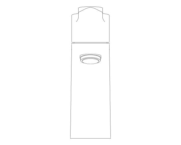 bimstore 3D image of the Bauedge Basin Mixer S Size - 23328000 from Grohe