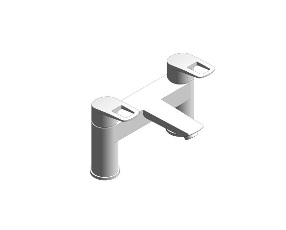 Product: StartLoop - 2hdl bath 2-h UK - 25233001
