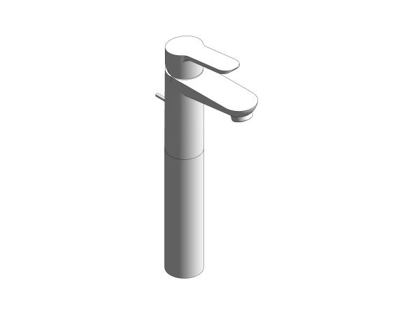 bimstore 3D image of the BauLoop Single Lever Basin Mixer - 32856000 from Grohe