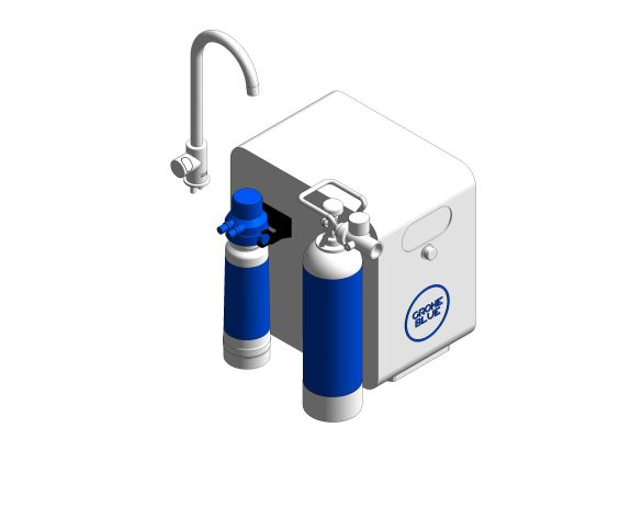 bimstore 3D image of the Blue Professional C Spout Kit - 31302002 from Grohe