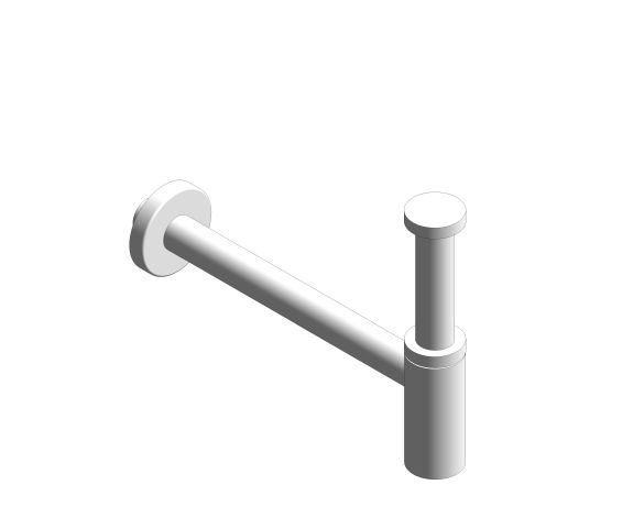 bimstore 3D image of the Bottle Trap - 28912000 from Grohe