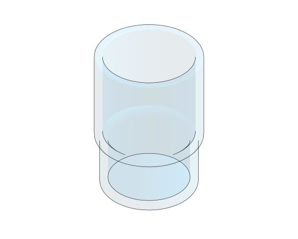 bimstore 3D image of the Essentials Crystal Glass - 40372001 from Grohe
