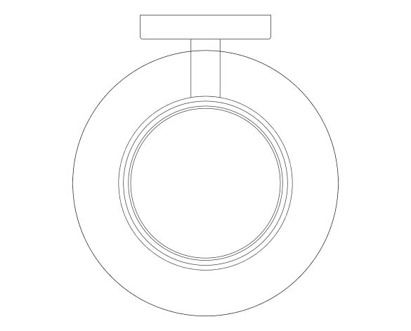 bimstore plan image of the Essentials Soap Dish - 40368001 from Grohe