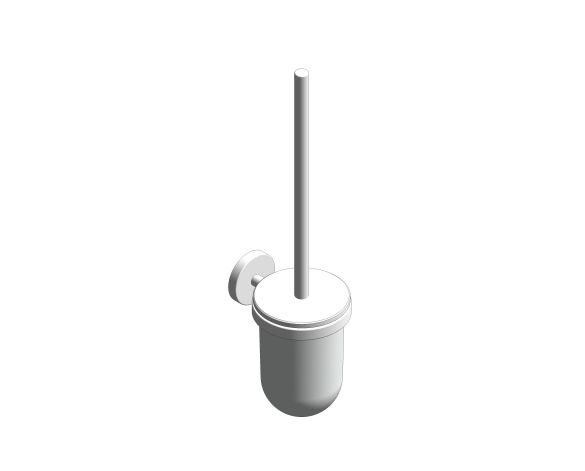 bimstore 3D image of the Essentials Toilet Brush Set - 40374001 from Grohe