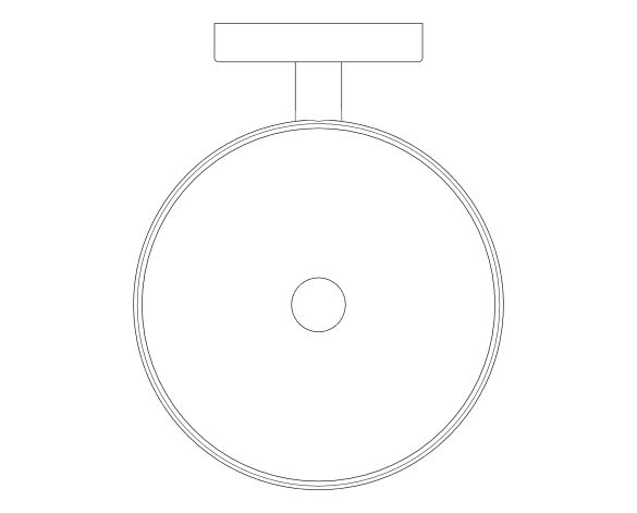 bimstore plan image of the Essentials Toilet Brush Set - 40374001 from Grohe