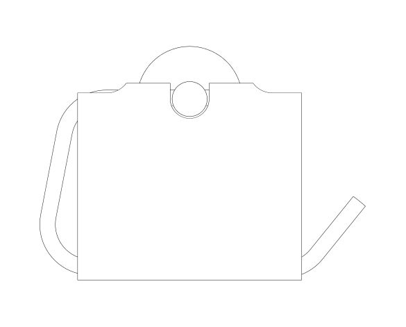 bimstore 3D image of the Essentials Toilet Roll Holder - 40367001 from Grohe