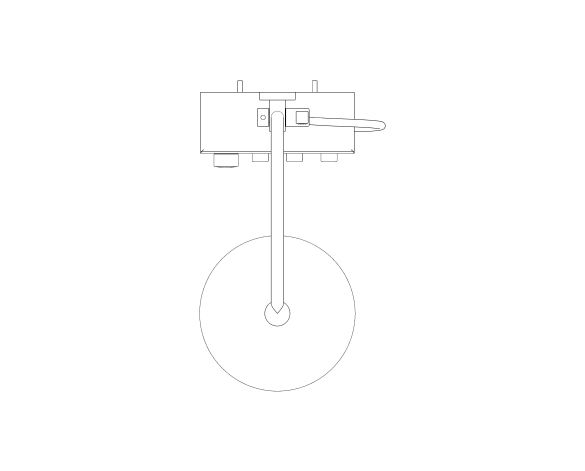 bimstore plan image of Euphoria - 310 Cube Duo Shower System - 26508000 from Grohe