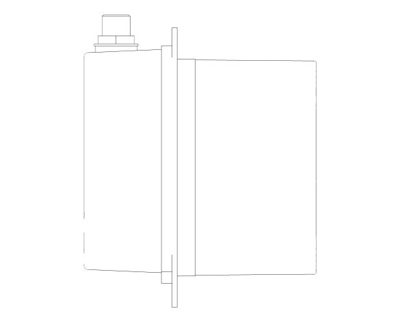 bimstore side image of the Euroeco Cosmopolitan E Concealed Mounting Box - 36337001 from Grohe
