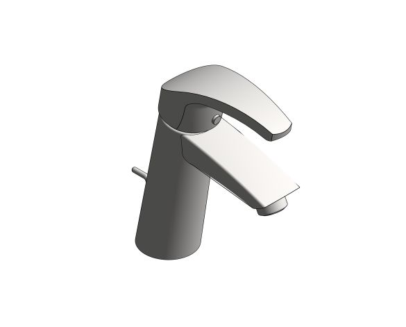 bimstore 3D image of the Eurosmart Basin Mixer M Size - 23322001 from Grohe