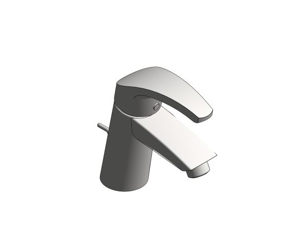 bimstore 3D image of the Eurosmart Basin Mixer S Size - 23924002 from Grohe