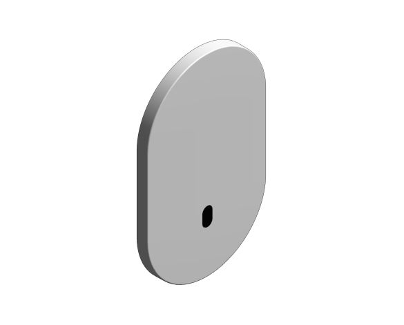 bimstore 3D image of the Eurosmart Cosmopolitan E Special Infra-Red Electronic for Concealed Shower Thermostat - 36463000 from Grohe