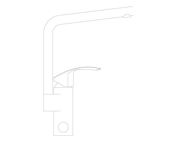 bimstore side image of the Eurosmart Kitchen Faucet - 31787000 from Grohe