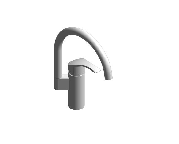 bimstore 3D image of the Eurosmart Kitchen Faucet - 31789000 from Grohe