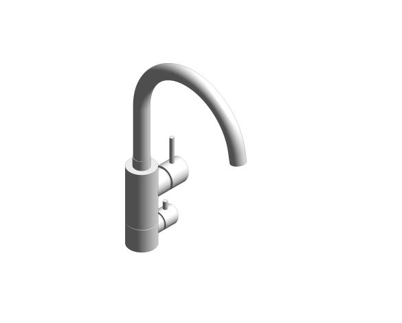 bimstore 3D image of the Concetto Kitchen Faucet 31793000 from Grohe