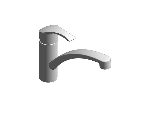 bimstore 3D image of the Eurosmart Kitchen Faucet - 31790000 from Grohe