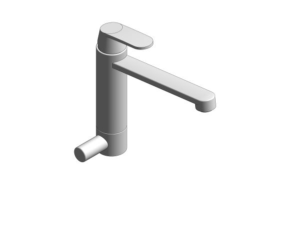 bimstore 3D image of the Eurosmart Kitchen Faucet - 31791000 from Grohe