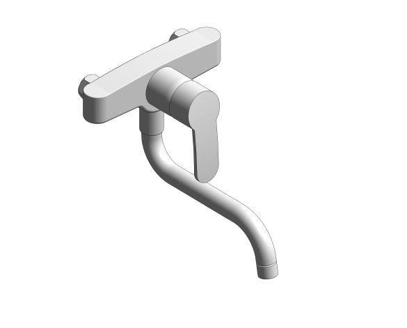 bimstore 3D image of the Eurostyle Kitchen Faucet - 31794000 from Grohe