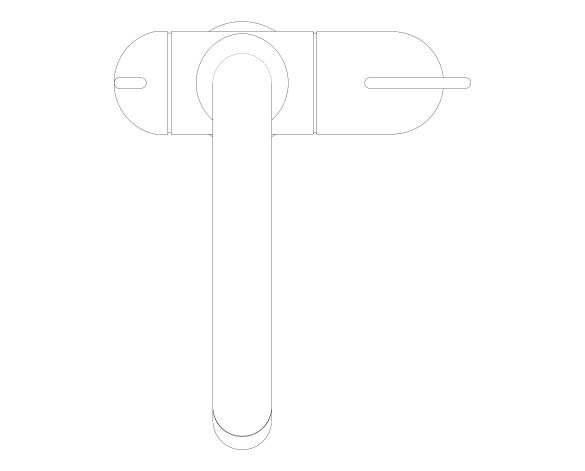 bimstore plan image of the Zedra Kitchen Faucet - 31795000 from Grohe