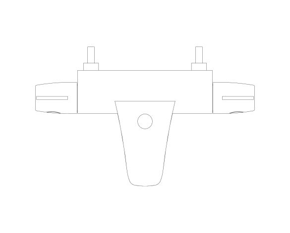 bimstore plan image of Grohtherm 800 Thermostat - 34754000 from Grohe