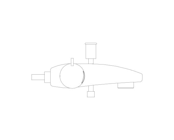 bimstore side image of Grohtherm 800 Thermostat - 34754000 from Grohe