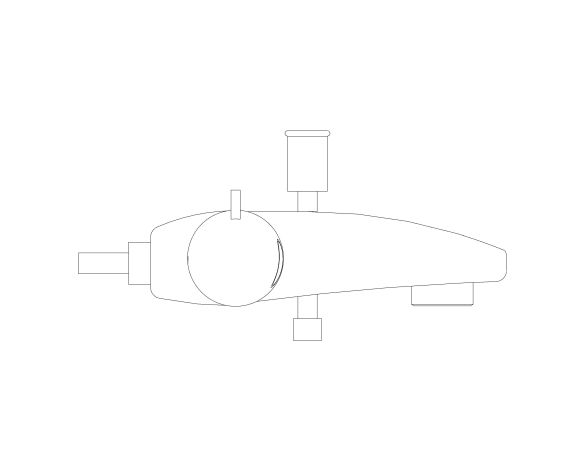 bimstore side image of Grohtherm 800 Thermostat - 34756000 from Grohe