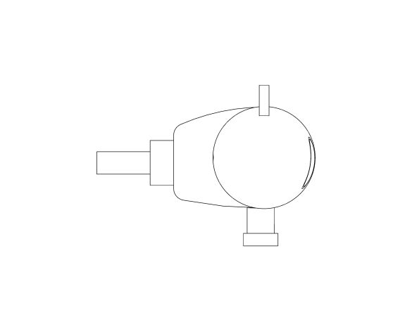 bimstore side image of Grohtherm 800 Thermostat - 34757000 from Grohe