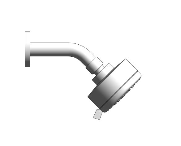 bimstore side image of the New Tempesta Cosmopolitan 100 Head Shower - 26613000 from Grohe