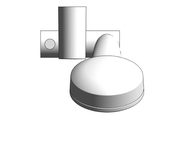 bimstore plan image of the New Tempesta Cosmopolitan 100IV Shower Rail Set - 26621000 from Grohe