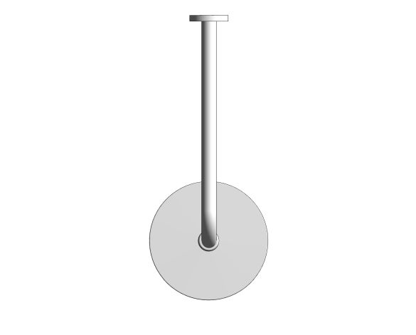 bimstore plan image of the New Tempesta Cosmopolitan 200 Head Shower - 26615000 from Grohe
