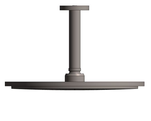 bimstore front side image of the Rainshower Cosmopolitan 310 Head Shower Set 142 - 26629A00 from Grohe