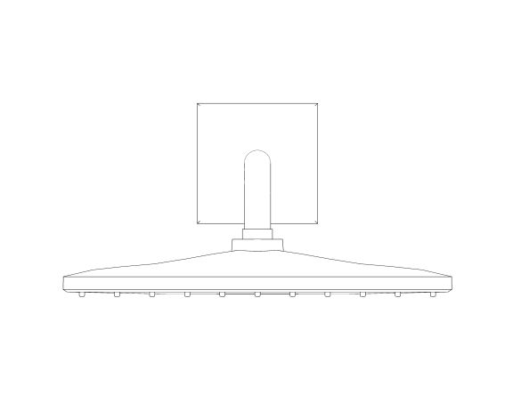 bimstore front image of the Rainshower - Mono 310 Cube - 26564000 from Grohe