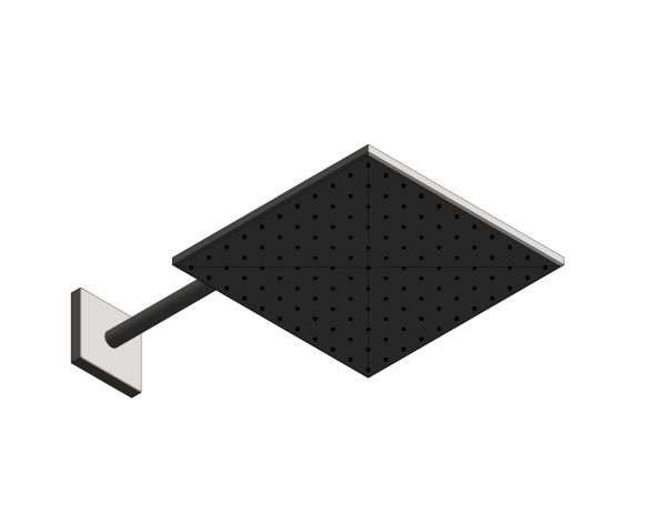 bimstore 3D image of the Rainshower - Mono 310 Cube - 26564000 from Grohe