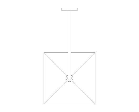 bimstore plan image of the Rainshower - Mono 310 Cube - 26564000 from Grohe