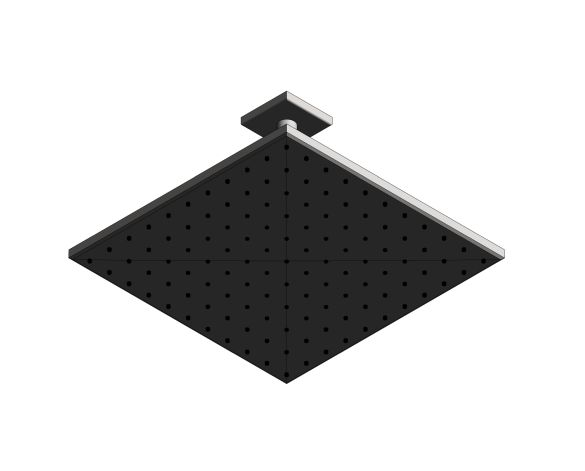 bimstore 3D image of the Rainshower - Mono 310 Cube - 26566000 from Grohe