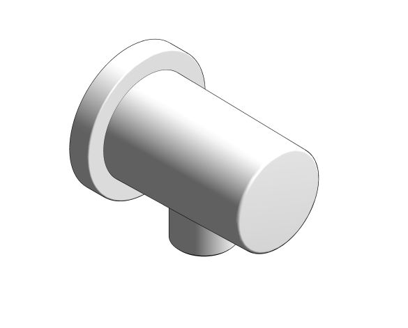 bimstore 3D image of the Rainshower Shower Outlet Elbow - 27076000 from Grohe