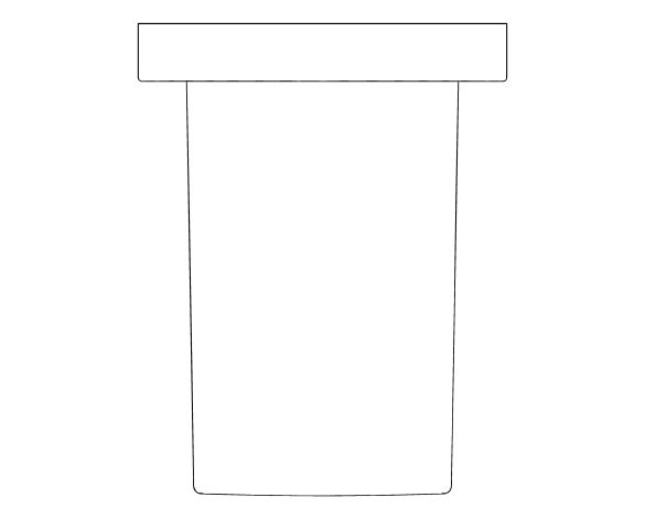bimstore plan image of the Rainshower Shower Outlet Elbow - 27076000 from Grohe