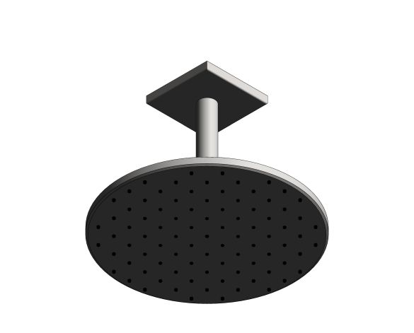 bimstore 3D image of the Rainshower - Smart Active 310 Cube - 26477000 from Grohe